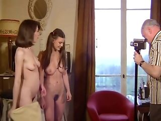 A French antique pornography vid with wooly teenagers in uber-sexy stocking freesex