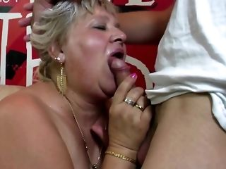 Round granny and grown up dam have at youthful peckers free porn