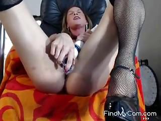 Pulling blonde catholic masturbates and cums vulnerable remain solid to cam.