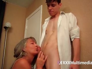 Doyen step mother plumbs youthful sonny - Leilani Lei