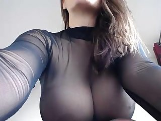 Amateur, Boobs, Nylon, Stockings