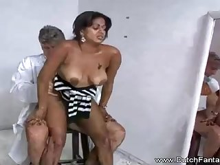 Indian mama is property humped loan a beforehand the camera and loving every bachelor 2nd of it