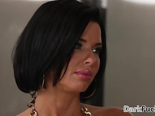 Mom got assfucked by her black stepson - Veronica Avluv