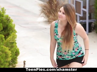TeenPies - Creampied By Her Drained Theatre troupe Dad