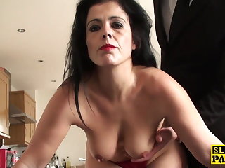 Adult sub assfucked until red-hot raw and needy