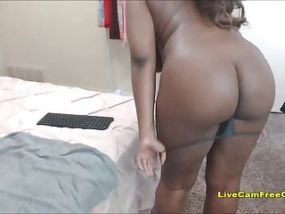 Big Black Ass Chick so Sweet BBW Teen with Glasses