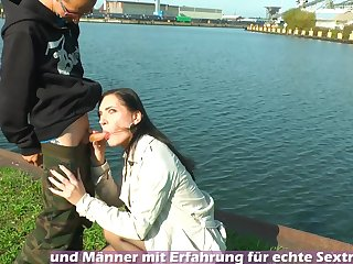 caught in public sex from german amateur outdoor teen
