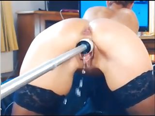 Hot Teen getting fucked will not hear of hungry perfect pussy in doggystyle with  will not hear of perfect round fit ass.