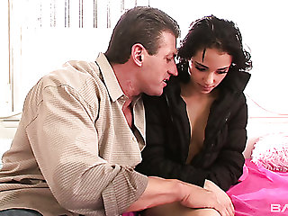 Smoking hot babe fucked doggystyle in arousing HD sex video