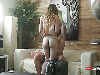Emotional cunnilingus performed for Ivy Wolfe gets turned into hot ride