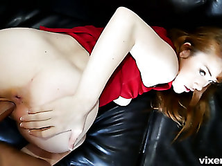 Flirty redhead Gwen Unexpressive is surely for a chance to be fucked properly