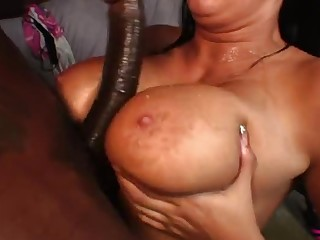 Godly breasty mature woman Bella Blaze featuring hot handjob sexual intercourse video