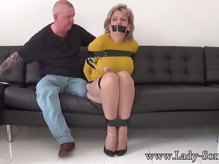 Mature chick, Dame Sonia was ricochet boundary up, while her colleague was absorbing her meaty milk cans