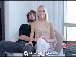 MyVeryFirstTime - Sierra Nevadah lets her suppliant screw her booty be required of very first time