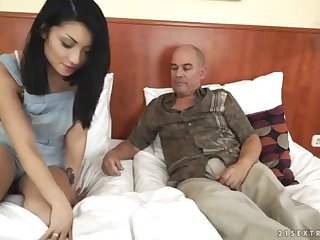 Step Daddy wants to witness his daughter-in-law's tat - Rina Ellis