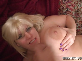 Blonde BBW Tiffany Blake Big Broad in the beam Bowels POV