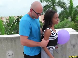 RealityKings - 8th Street Latinas - Gut With the addition of Balloons