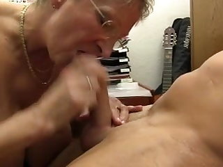XXX OMAS - Dirty Germany granny takes dick at one's fingertips the rendezvous